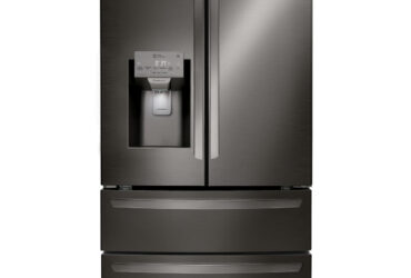 LG LMXS28626D 27.8 cu. ft. Smart Wi-Fi Enabled 4-Door French Door Refrigerator – Black Stainless Steel