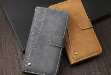 Leather Business Silicone Wallet Cover