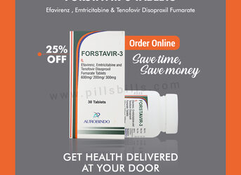 Buy Online Forstavir-3 Tablets with 5% Cashback