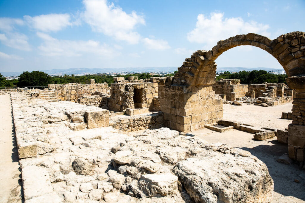 Greek Cypriot ruins landscape photography