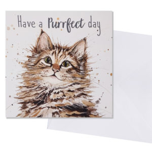 Have a purr-fect day card
