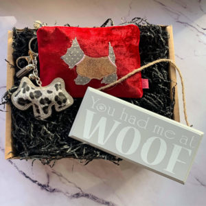 You Had Me At Woof Gift Box by Corzo and Wood
