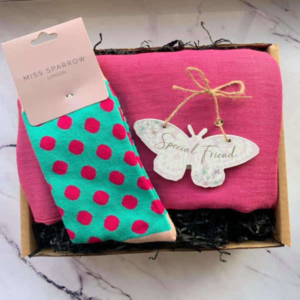 Special Friend Gift Box by Corzo and Wood