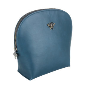 Alice Wheeler - Teal Shell Beauty Case - Corzo and Wood