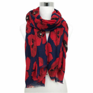 Poppy Scarf - Corzo and Wood