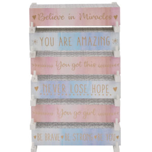 Positive Quote Block - Corzo and Wood