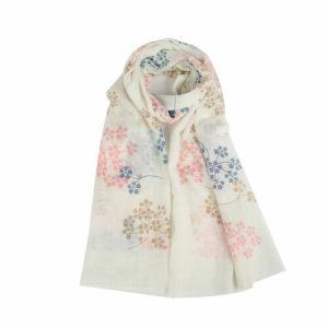 Tree Branch Blossom Print Scarf - Corzo and Wood