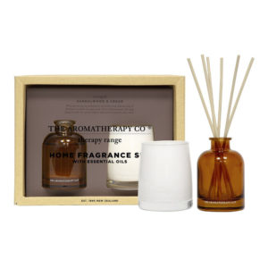 Candle and Diffuser Set - Sandalwood and Cedar - Sold by Corzo and Wood