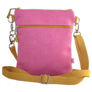 Dog Walking Bag - Pink - Sold by Corzo and Wood