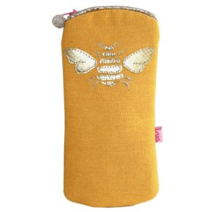 Gold Bee Glasses Case - Sold by Corzo and Wood