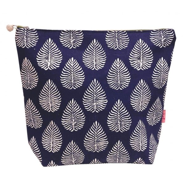 Large Printed Cosmetic Bag - Sold by Corzo and Wood