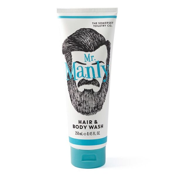 Mr Manly Hair and Body Wash - Sold by Corzo and Wood