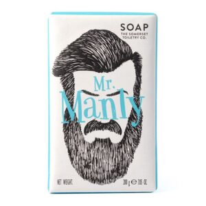 Mr Manly Soap - sold by Corzo and Wood