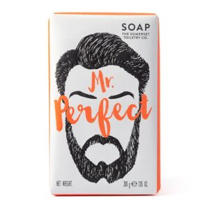 Mr Perfect Soap - sold by Corzo and Wood