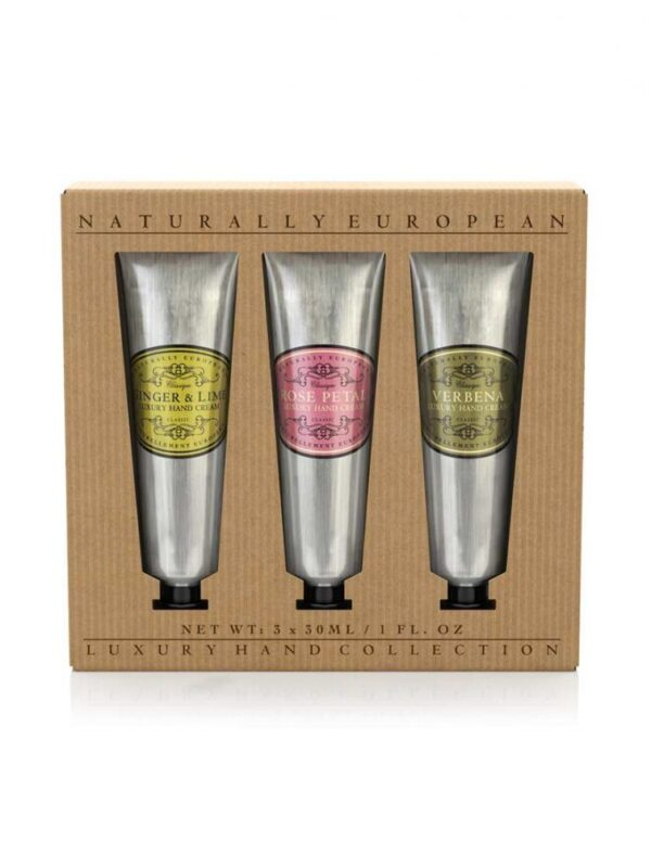 Hand Cream Gift Set - Naturally European - sold by Corzo and Wood