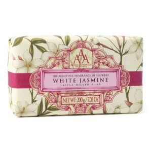White Jasmine Soap - sold by Corzo and Wood