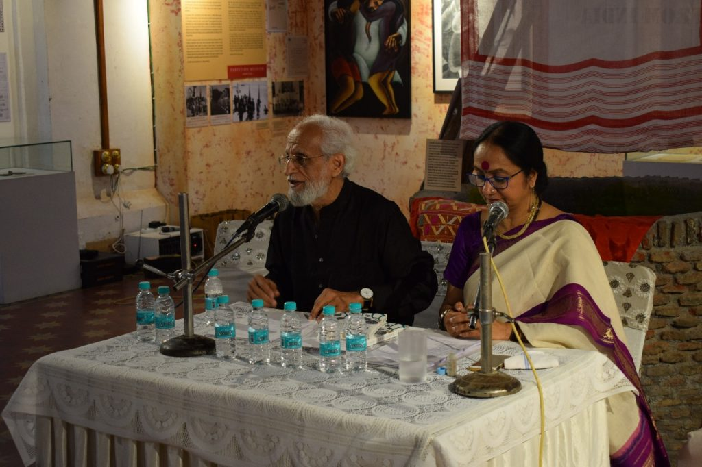 Professor Alok Bhalla and Actor Averee Chaurey