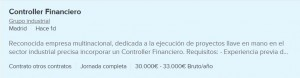 oferta control de gestion madrid