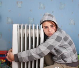 calefacción o frío