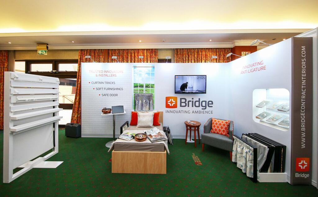 Bridge Reusable Exhibition Stand by Quadrant2Design
