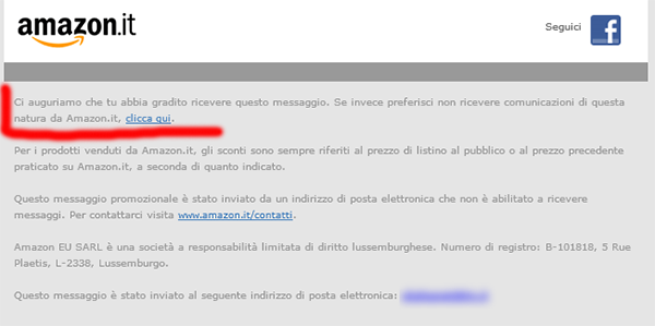 amazon-disiscrizione