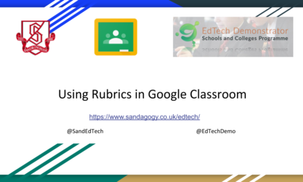Using Rubrics in Google Classroom
