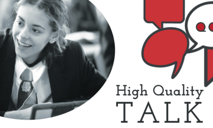 That's what I'm talking about: Exploring the dimensions of high quality classroom talk
