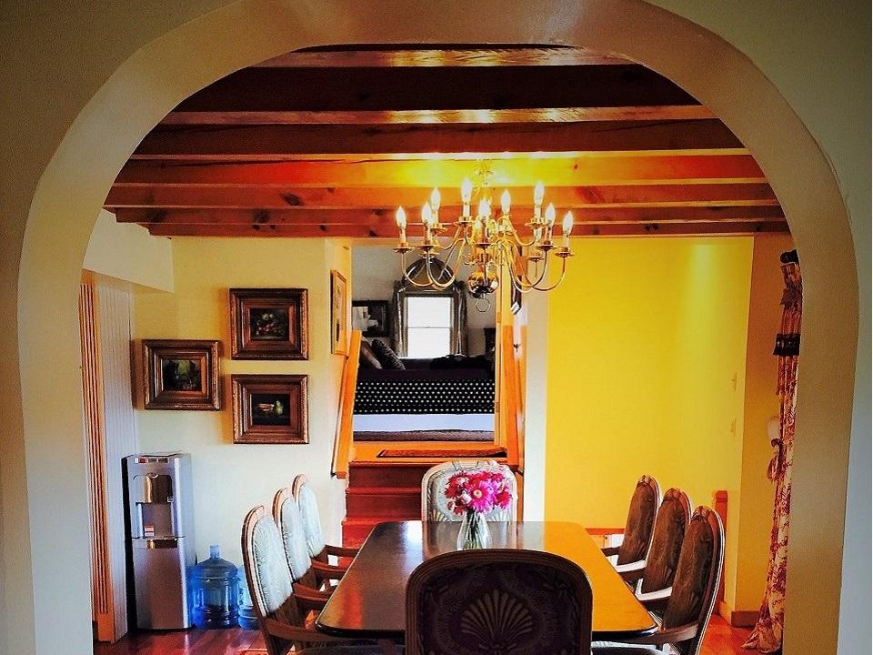 Kitchen to Master Suite