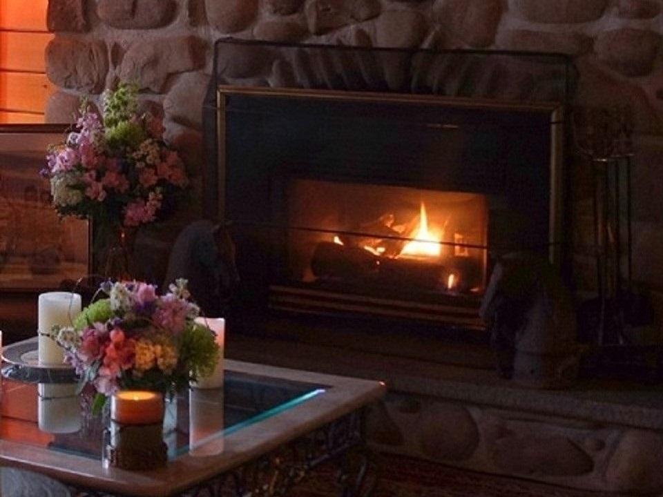 Delightful Fireplace
