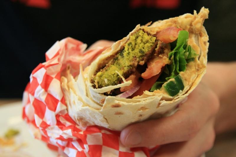 Falafel Wrap Pasha Glasgow