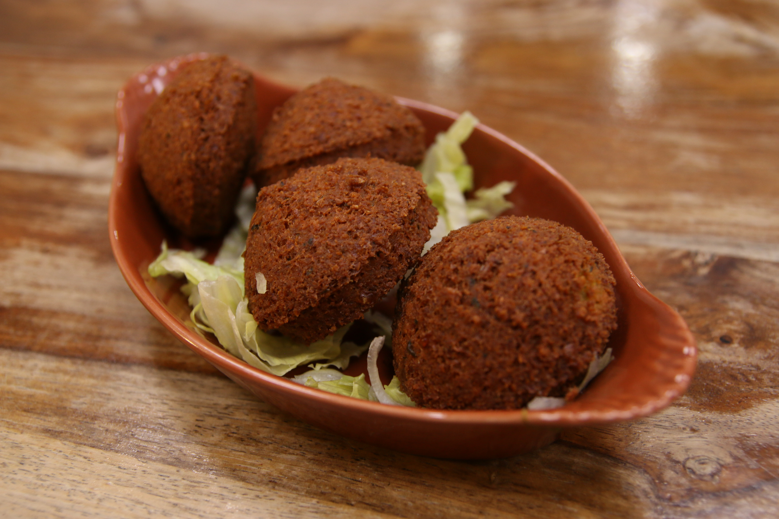Falafel Pieces at Pasha Glasgow