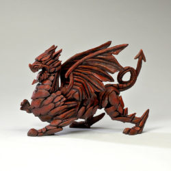 Matt Buckley / Edge Sculpture - Red Dragon