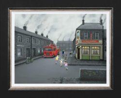 Leigh Lambert - False Alarm on Canvas