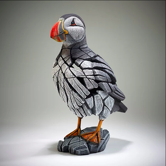 Edge Sculpture Matt Buckley - Puffin