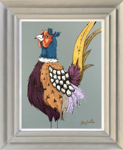 Amy Louise Original Painting - Mr Pheasant