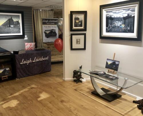 Leigh Lambert Artist Exhibition at CLK Art, Lymm, Cheshire