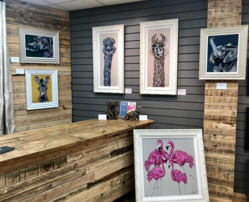 Amy Louise Art - Original Paintings, Limited Edition Prints and Commissions at CLK Art