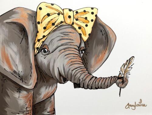 Amy Louise Art Elephant