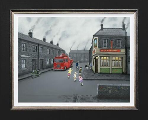 leigh lambert false alarm limited edition print on canvas