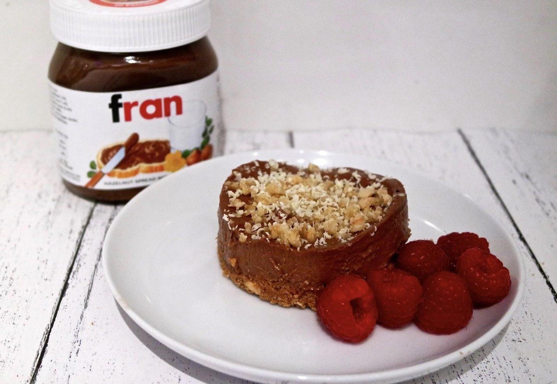 No Bake Nutella Cheesecake || Recipe