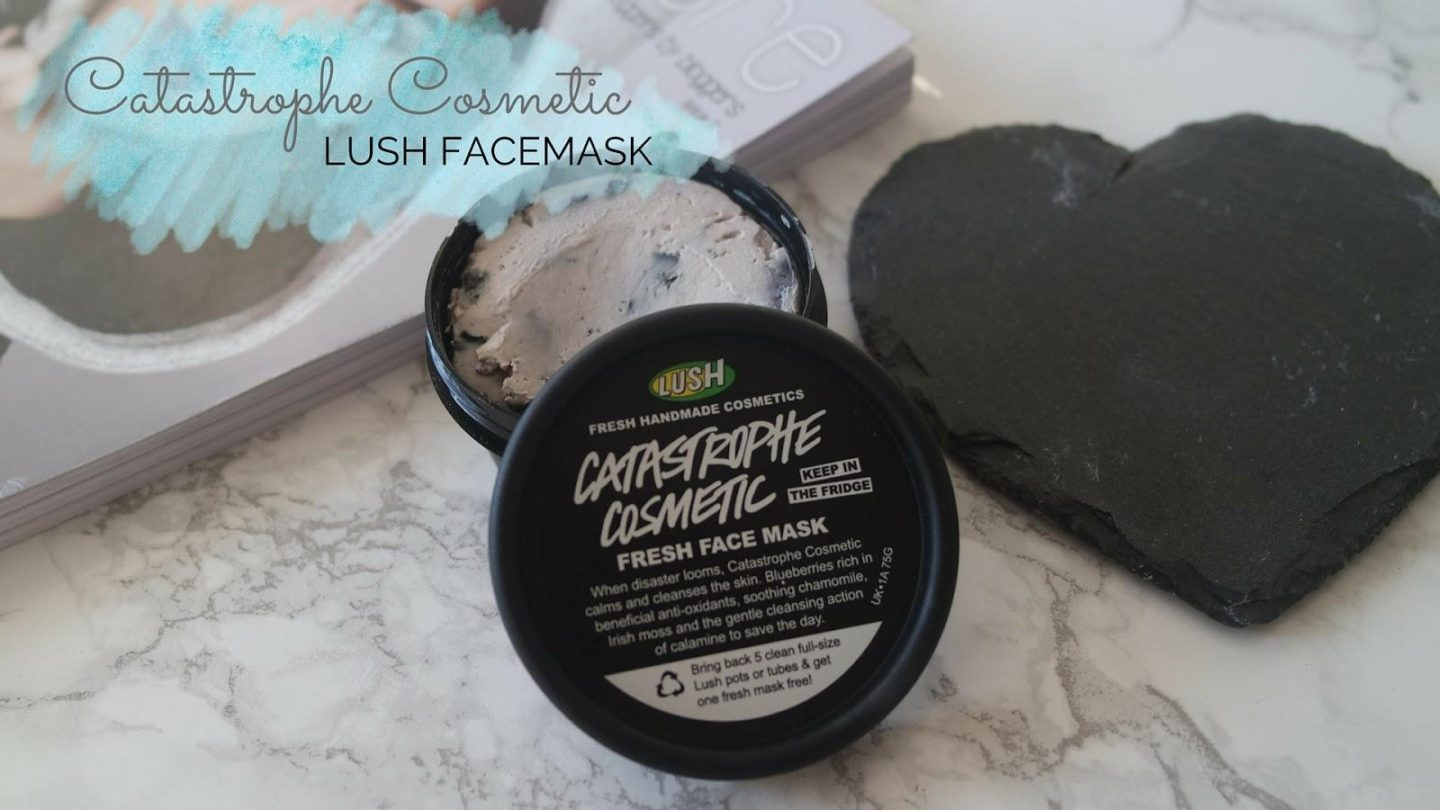 Making My Own Lush Catastrophe Cosmetic Face Mask    Beauty