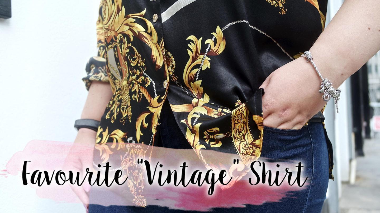 "My Favourite ""Vintage"" Shirt    OOTD - FrannyMac"