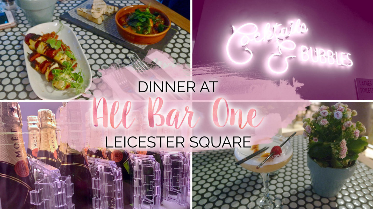 All Bar One, Leicester Square || Food & Drink
