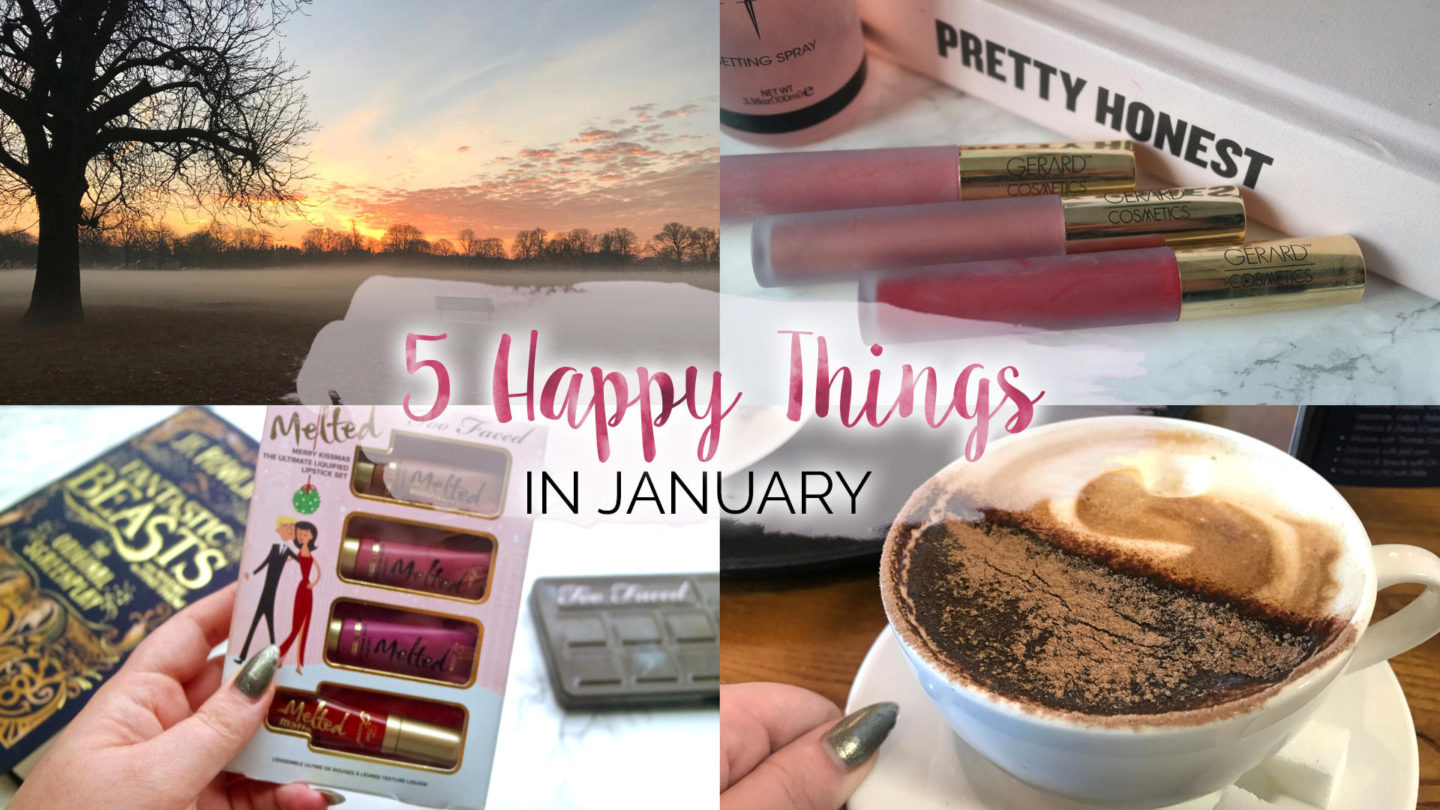 Five Happy Things – #5 - January    Life Lately