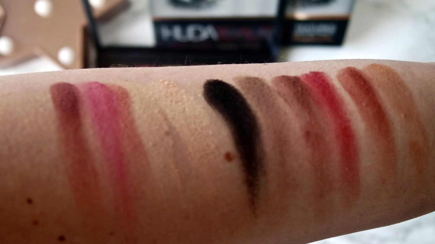 Huda Beauty - Rose Gold Palette (Shop My Stash) || Swatches