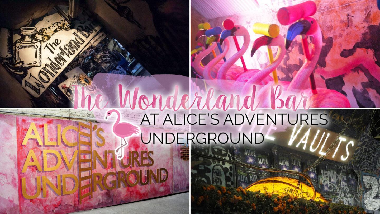 The Wonderland Bar at Alice's Adventures Underground || London