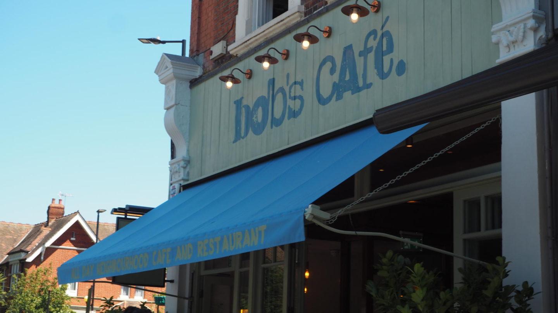 Brunch At Bob's Cafe, Ealing Broadway    Outside