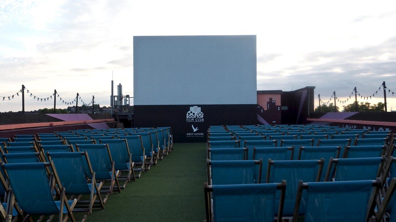 La La Land at Rooftop Cinema Club, Bussey Building || London