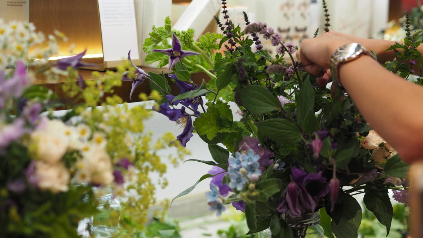#HerbalRecovery - Evening with Jurlique & Jam Jar Flowers    Beauty