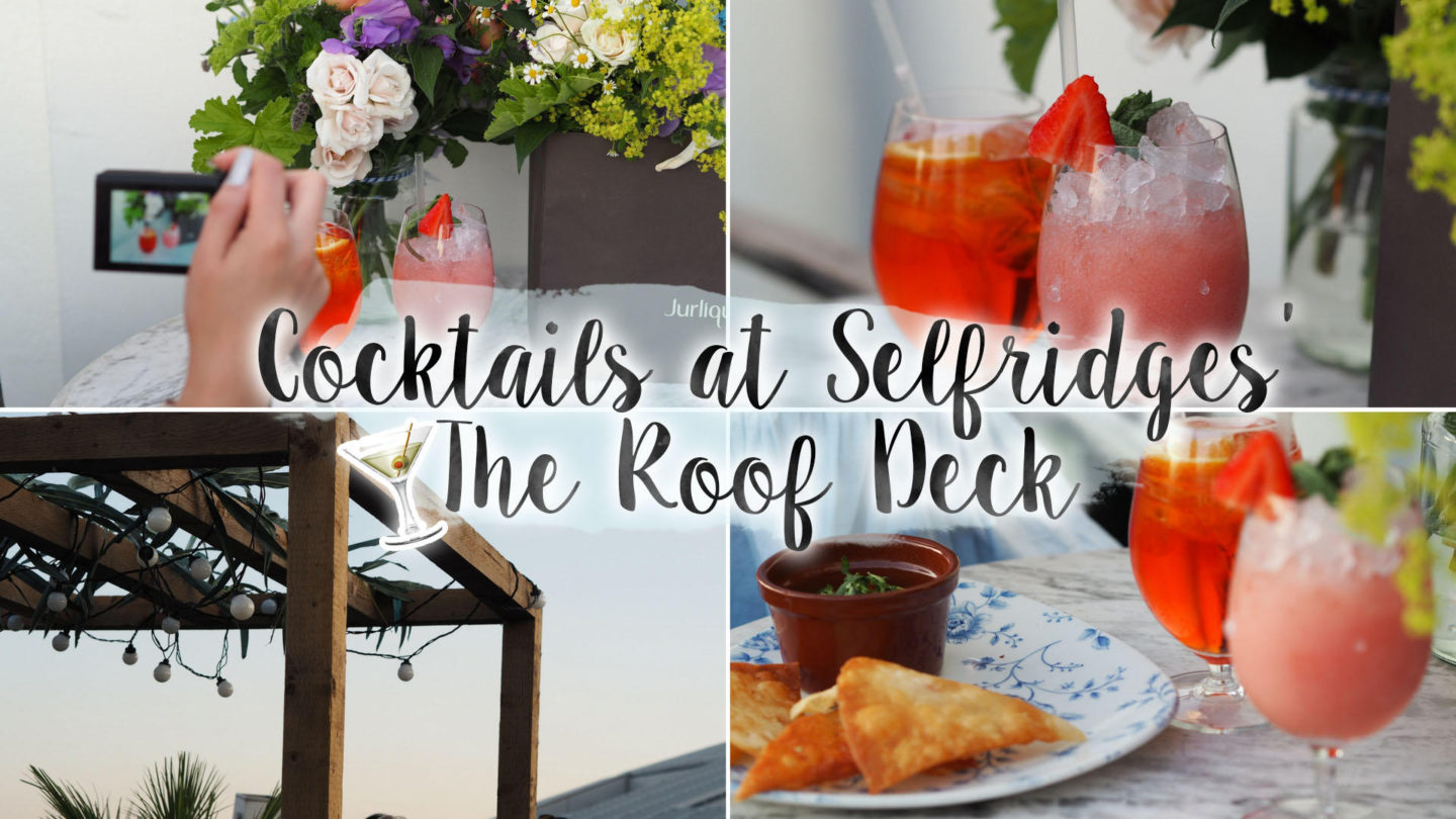 A Trip The Roof Top at Selfridges || London